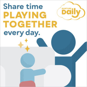 Share time, playing together, every day.