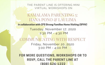 Kalama Parenting & Communicating with Respect